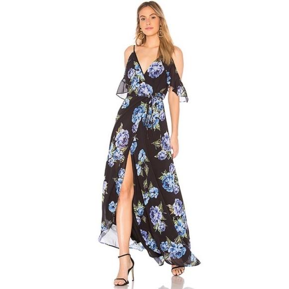 8ba3bb619509 Yumi Kim Dresses   Endless Love Wrap Floral Maxi Dress Nwt   Poshmark